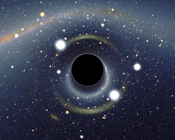 Buraco negro - Tô no Cosmos