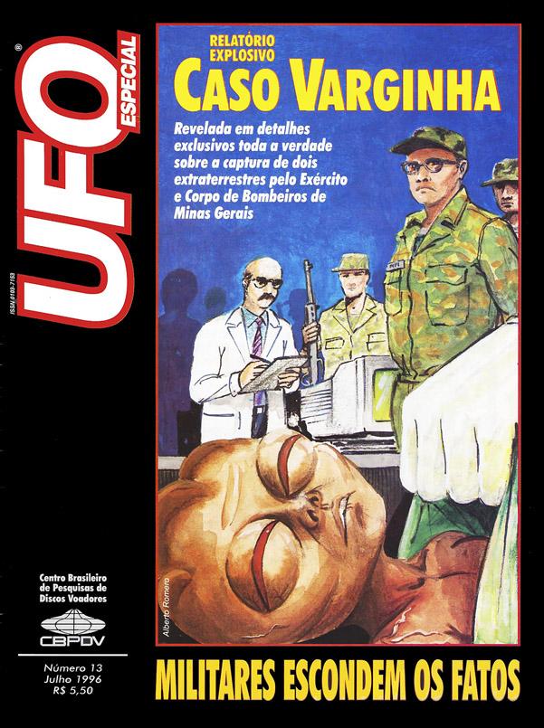 UFO 1996, caso varginha - Tô no Cosmos
