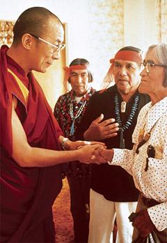 dalai-lama-hopi - Tô no Cosmos