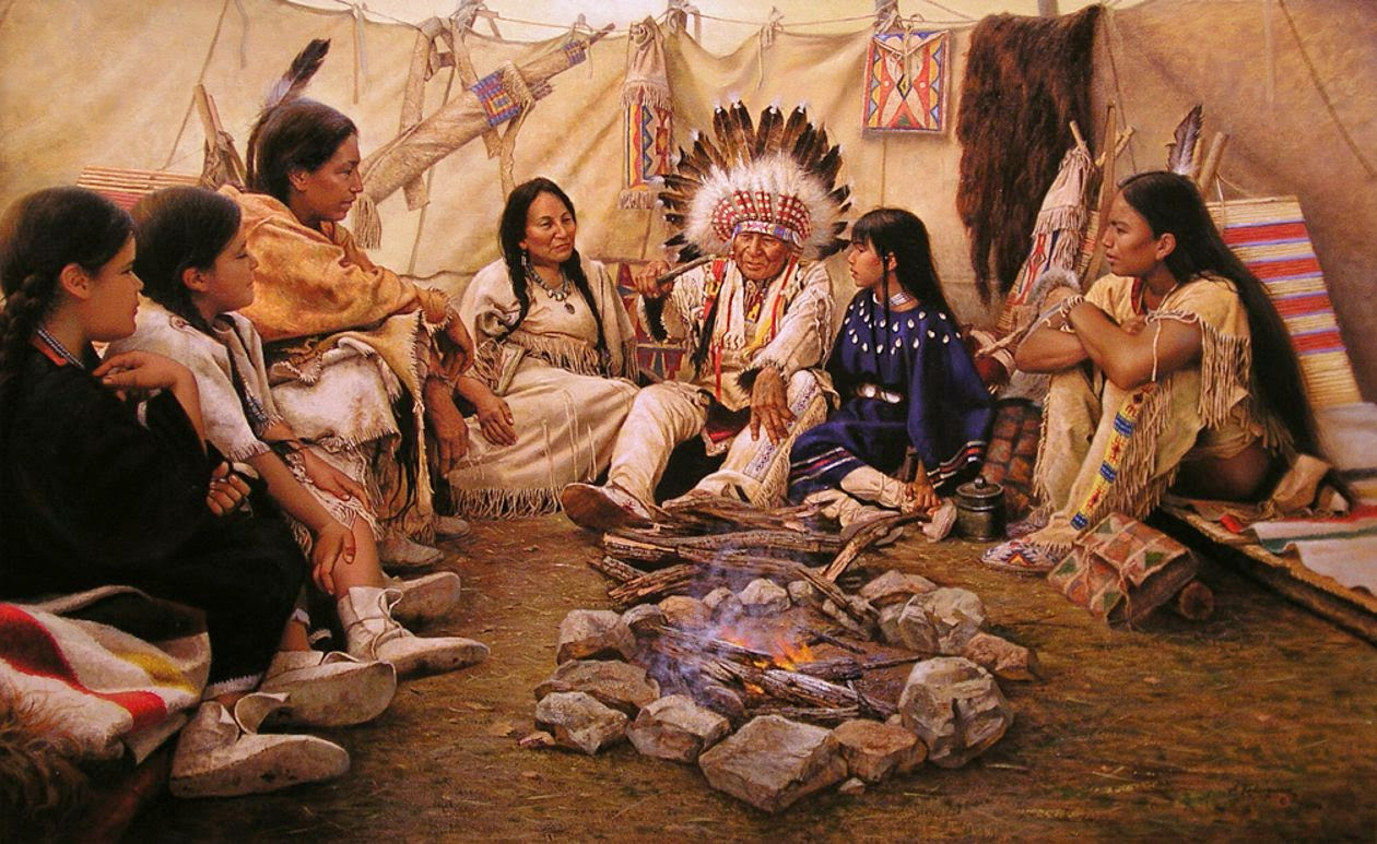 native-american-family