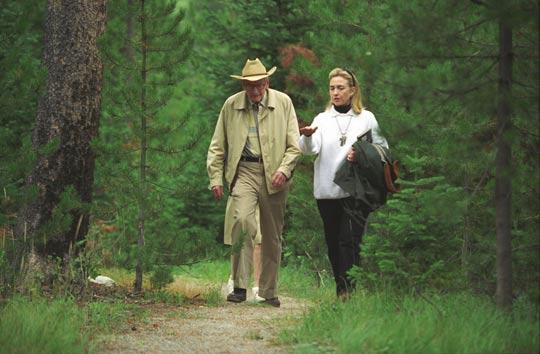 Hillary e Rockefeller 1995 - To no Cosmos