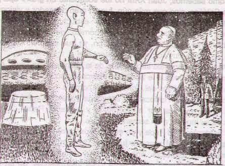 Papa Joao e um Ser de outro planeta - To no Cosmos