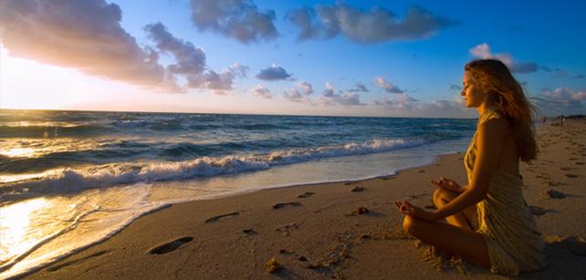Meditacao praia energia - To no Cosmos