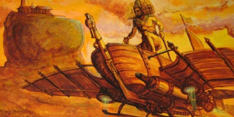 india antiga ufo - To no Cosmos
