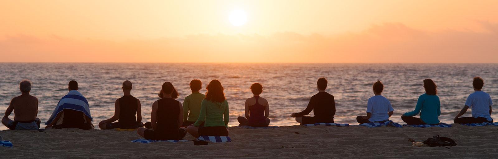 meditacao praia - To no Cosmos