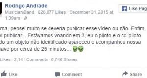 Aviao Rodrigo Andrade - Tô no Cosmos