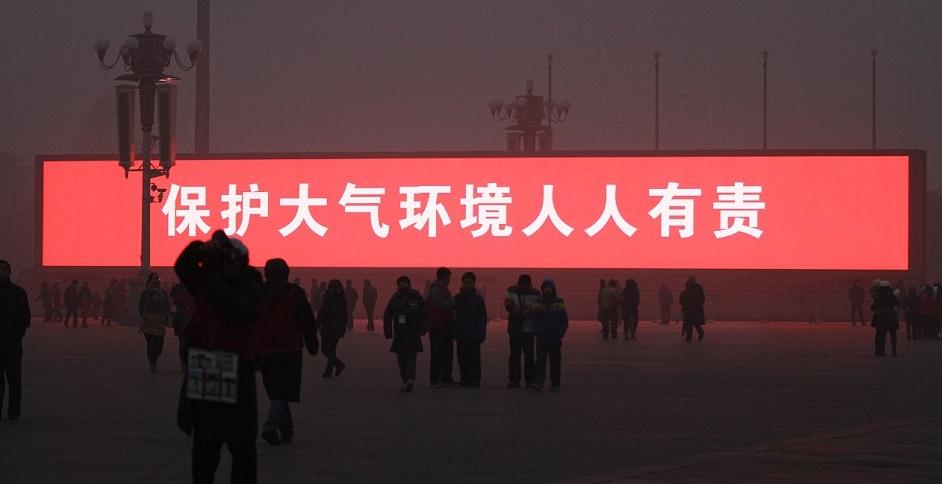 poluicao china led - To no Cosmos