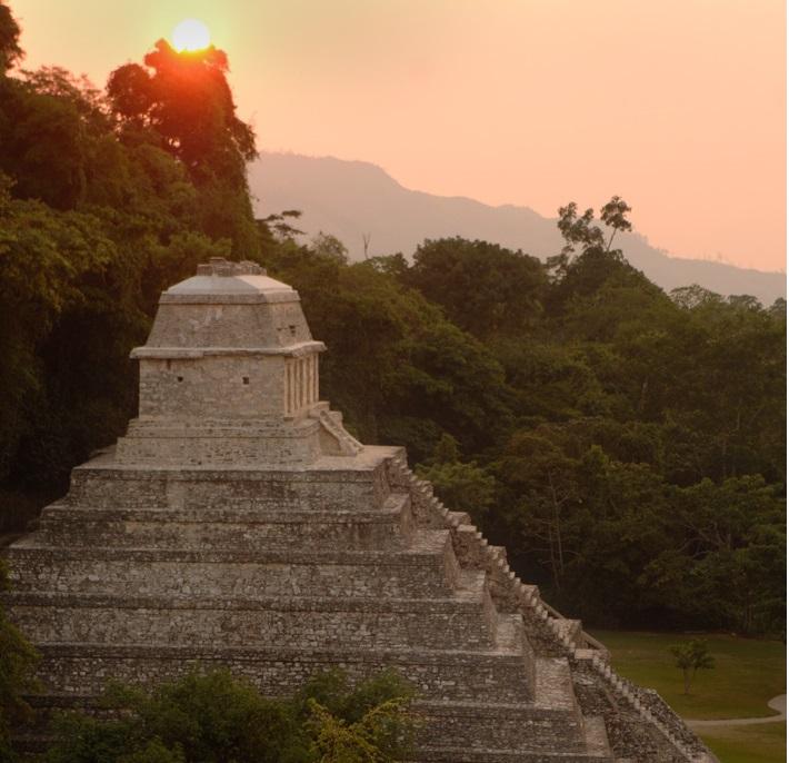 templo maia - To no Cosmos