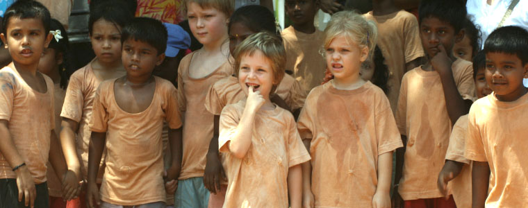 Auroville kids - To no Cosmos