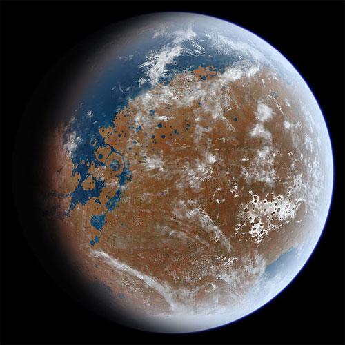 Marte Antiga - Tô no Cosmos