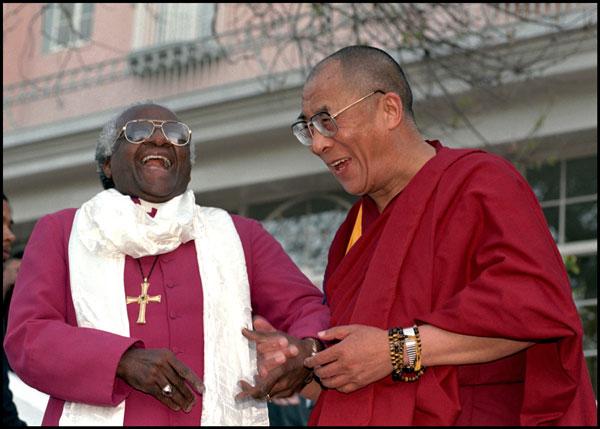 Dalai lama e bispo - To no Cosmos