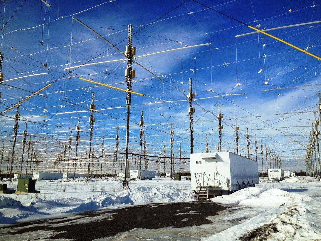 HAARP-Antenas - To no Cosmos