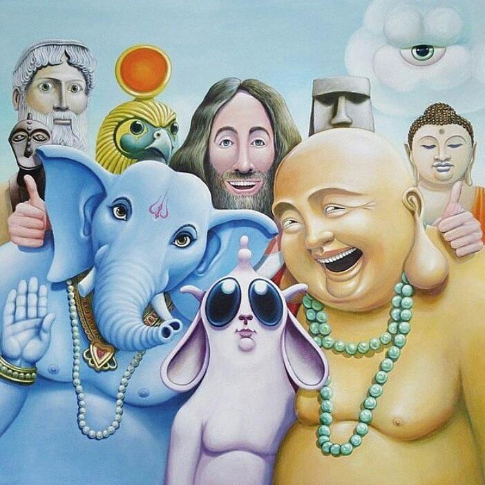 deuses juntos - to no cosmos