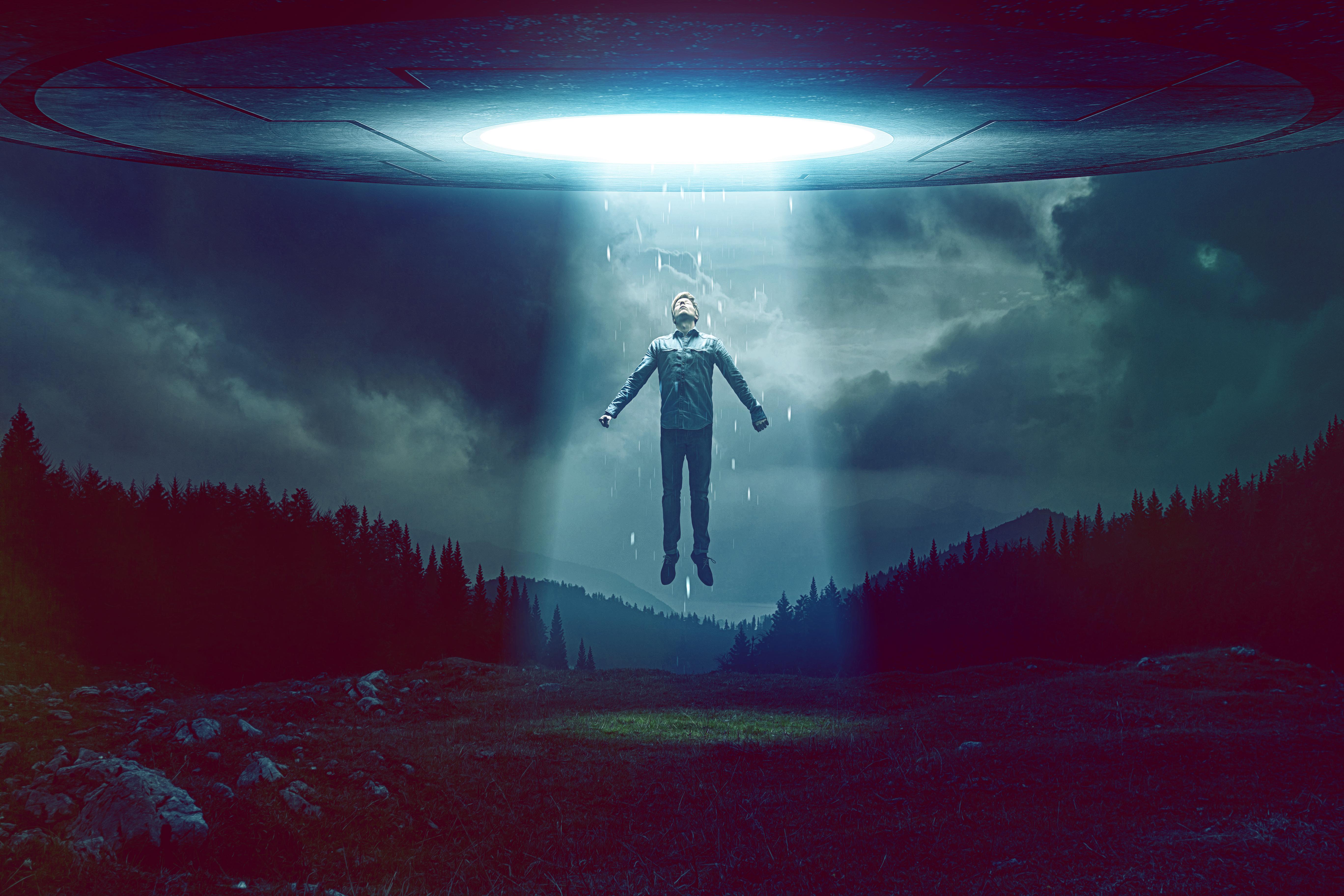 UFO luz - To no Cosmos