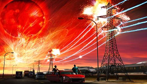 tempestade eletrica - To no Cosmos