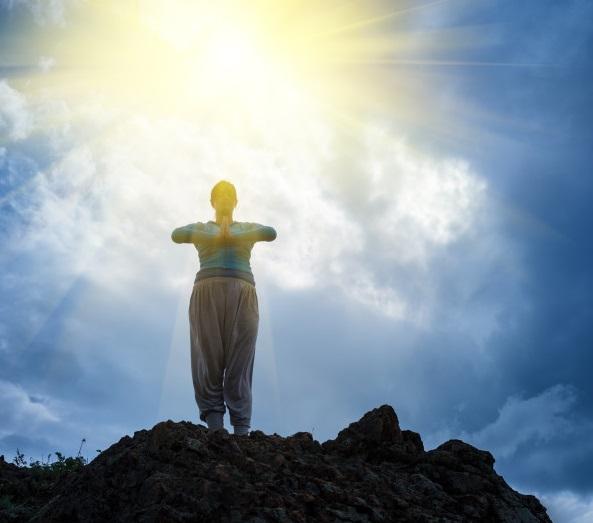 meditação montanha - To no Cosmos