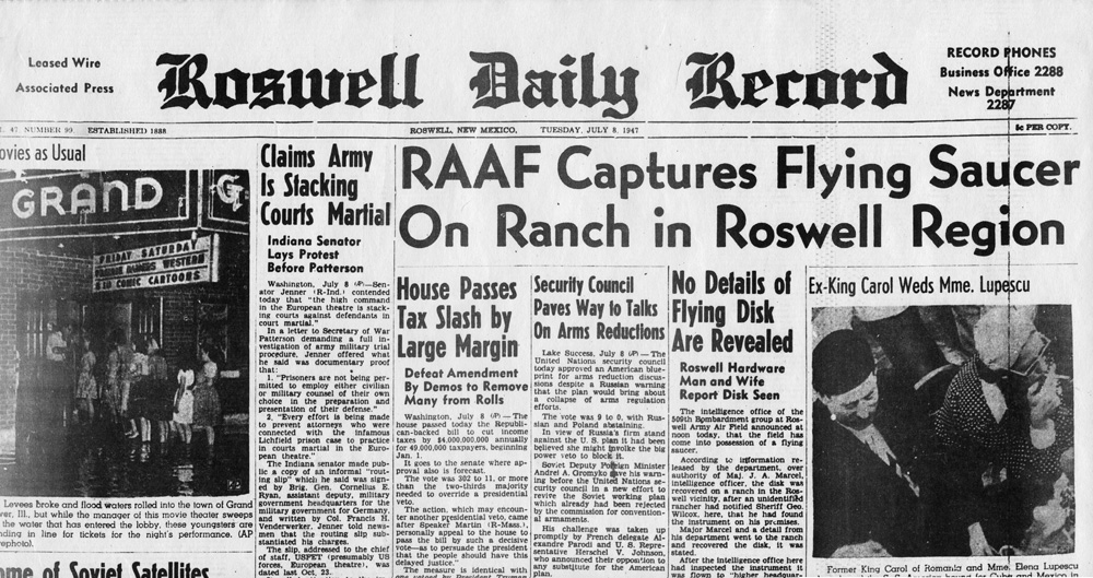 Roswell Jornal - To no Cosmos