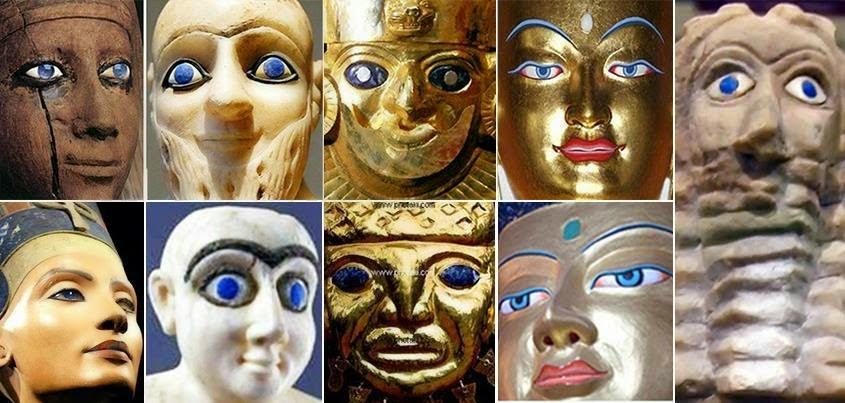 deuses olhos azuis - To no Cosmos