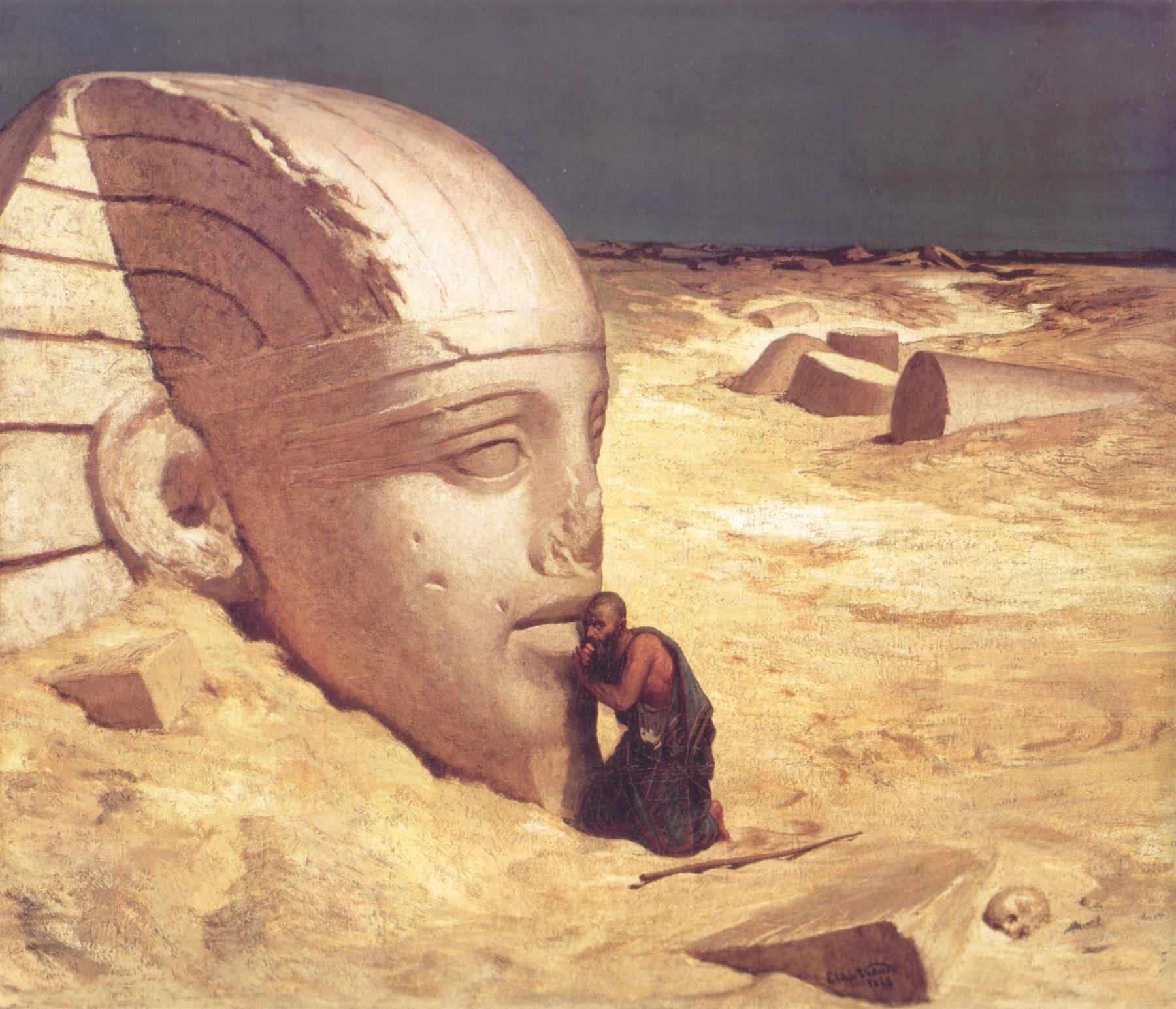 o questionador da esfinge - To no Cosmos