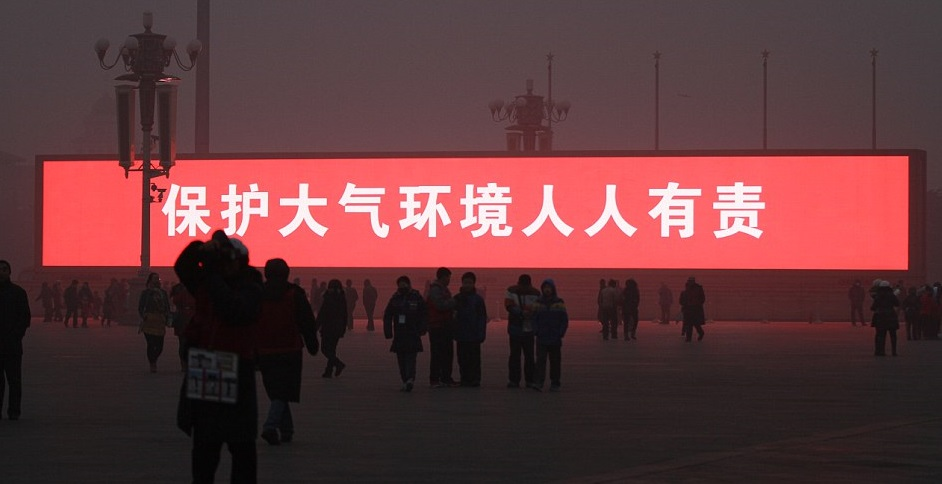 poluicao china led - To no Cosmos