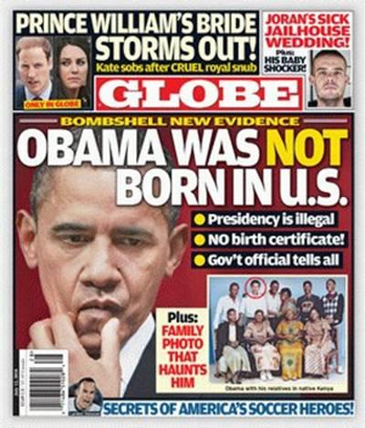 revista globe obama - To no Cosmos