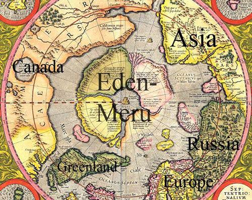 mapa hiperborea - To no Cosmos
