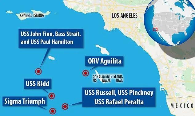 Os misteriosos OVNIs em forma de Tic Tac assustaram as tripulações dos navios de guerra dos EUA por vários dias 2